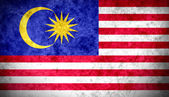 Malaysian Flag — Stock Photo