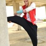 Street dancer — Stock Photo #11974003