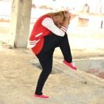 Street dancer — Stock Photo #11977663