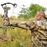 Modern Bow Hunter — Stock Photo #12574719