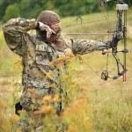 Modern Bow Hunter — Stock Photo #12574328