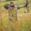 Modern Bow Hunter — Stockfoto