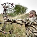 Modern Bow Hunter — Stock Photo #12574708