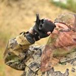 Modern Bow Hunter — Stock Photo #12574966