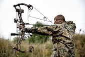 Modern Bow Hunter — Stock Photo