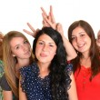 Happy group of students — Stock Photo #12807353