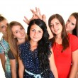 Happy group of students — Stock Photo #12807354