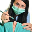 Plastic surgery operation - Stockfoto