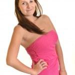 Beautiful European young businesswoman — Stock Photo #13439543