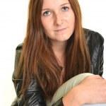Beautiful European young woman — Stock Photo #13439769