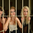 Women in prison. Retro portrait. — Stock Photo #13541165