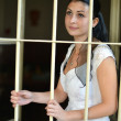 Bride in prison - Foto de Stock