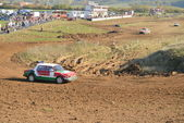 Rally Autocross Filakovske Klacany — Stock Photo