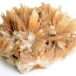 Stock Photo: Cluster of twinned aragonite
