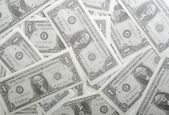 Dollars seamless background. — Stock Photo