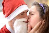 Santa down sendromlu — Stok fotoğraf