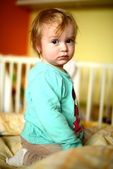 Baby in the room — Stock Photo