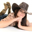 Sexy Cowgirl — Stock Photo #18123951
