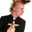 Punk Priest - Stock Photo