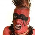 portrét indiána — Stock fotografie