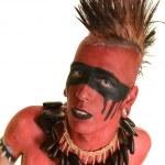 retrato do índio americano — Foto Stock