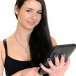 Woman with tablet pc computer — Stock Photo #21291673