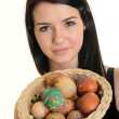 Young woman with Easter egg — Stock Photo #21291771