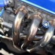 Stock Photo: Car engine