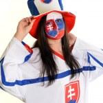 Slovakian Fan — Stock Photo