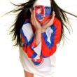Slovakian Fan — Stock Photo #25568347