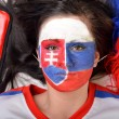 Stock Photo: Slovakian Fan