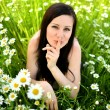 Spring woman — Stock Photo