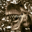 Tyrannosaur attack — Stock Photo