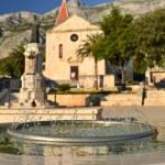 St. Mark's Church on the square Kaciceva in Makarska, Croatia — Stock Photo #30371703