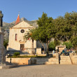 St. Mark's Church on the square Kaciceva in Makarska, Croatia — Stock Photo