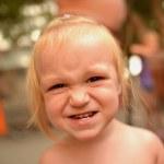 Portrait of cute little girl — Stock Photo #30375339