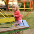 Baby girl having fun — Stock Photo