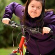 Woman Riding Trike — Stock Photo #31250743