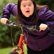 Woman Riding Trike — Stock Photo #31250773
