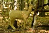 Deer decorative statue — Stock Photo