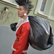 Bad Santin Punk Style — Stock Photo #35243055
