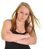 Beautiful blonde woman — Stock Photo