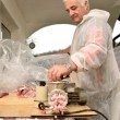 Meat and grinder — Stock Photo #36474423