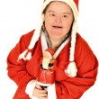 Photo of happy Santa Claus — Stock Photo