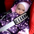 Baby in car seat — Stock Photo #39021847