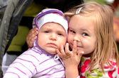 Dwa piękne dziecko — Zdjęcie stockowe