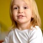 Pretty little girl — Stock Photo #40180607