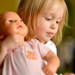Pretty little girl — Stock Photo #40180637