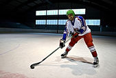 Ijshockey — Stockfoto