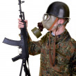 Young soldier — Stock Photo